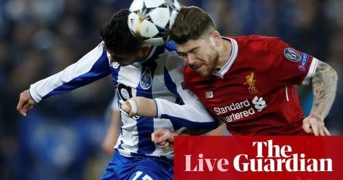 Liverpool v Porto: Champions League – live!: * Liverpool v Porto: Champions League – live!The Guardian * Liverpool FC team news:…