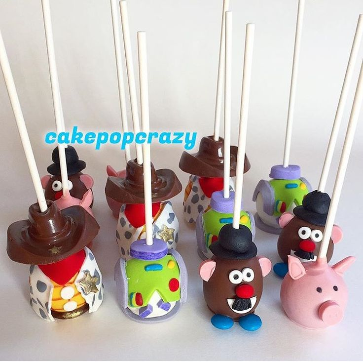 Toy Story Cake Pops Mavericks 3rd Bday In 2019 Toy