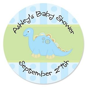 Baby Boy Dinosaur - Baby Shower Theme | BigDotOfHappiness.com