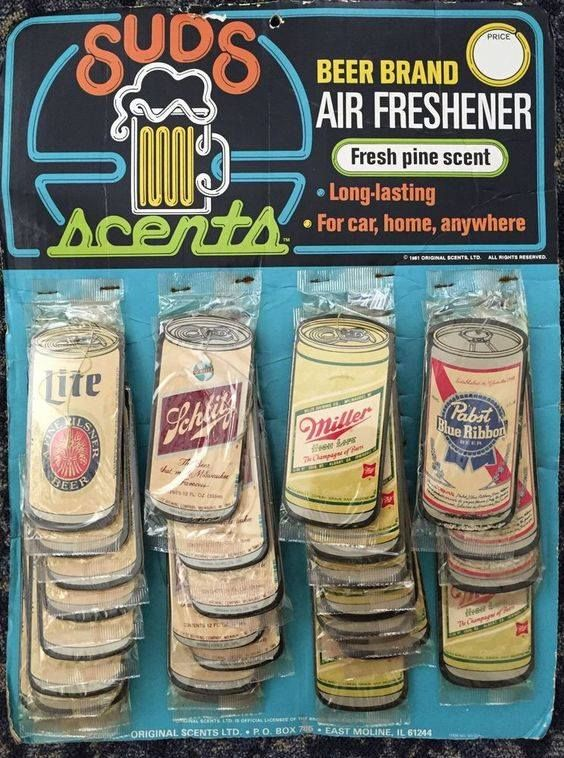 Vintage beer brands what