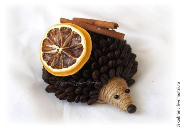 TUTORIAL Coffee Hedgehog / МК Ароматные Кофейные Ёжики