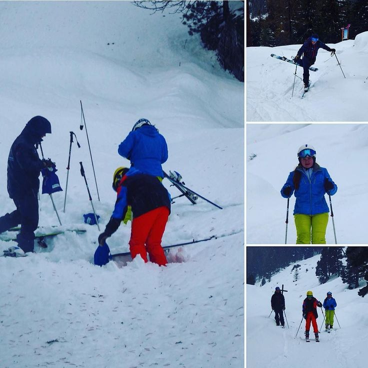 When bad weather closes the mountain we go ski touring and avalanche practice... #montagnemagique #gabysports #patagonia #lesetagnes #nendaz #inlovewithswitzerland