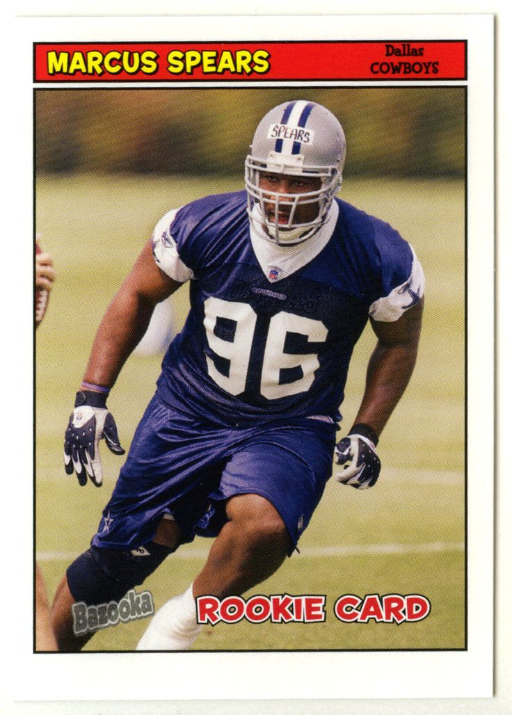 Marcus Spears RC # 205 - 2005 Topps Baz Football NFL Rookie