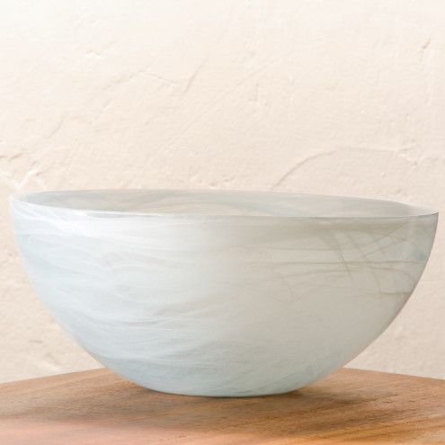 Aurora Recycled Glass Serving Bowl | VivaTerra