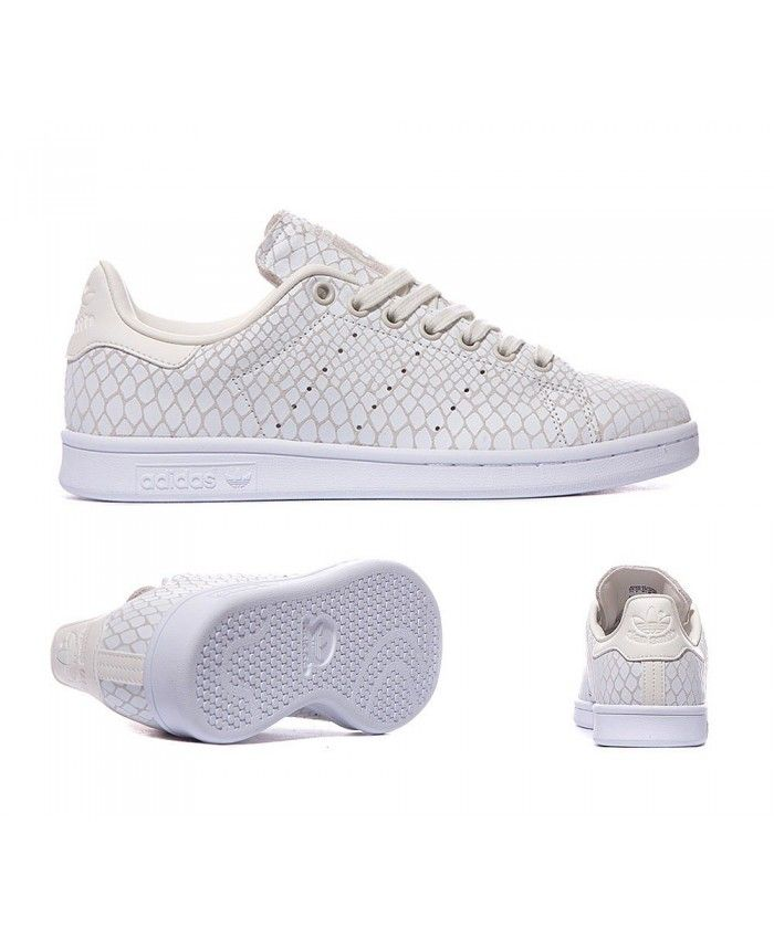 Adidas Originals Stan Smith Croc Off White Trainers Sale UK