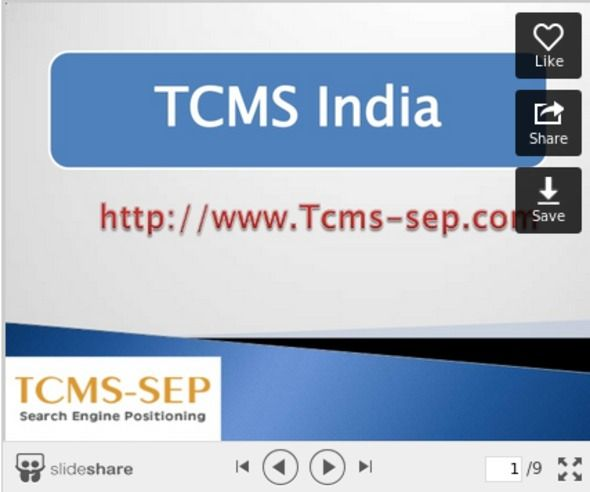 TCMS India help the clients to reach out to the market highlighting their attributes. We also boast in application development, monitoring and maintenance services.