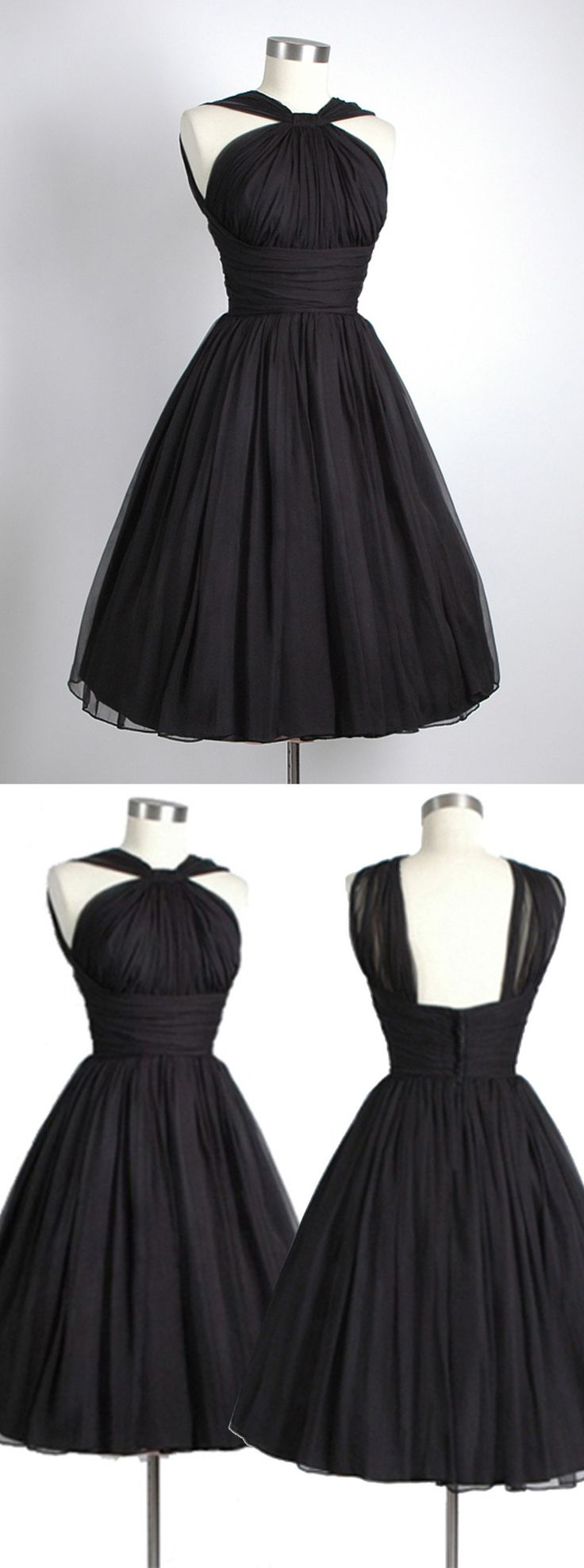 2016 homecoming dress, little black dress, 1950s vintage dress, party dress