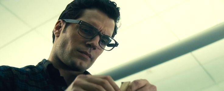 Tom Davies glasses worn by Henry Cavill in BATMAN V SUPERMAN: DAWN OF JUSTICE (2016) #TomDavies