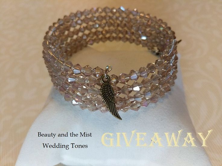 Is the hot weather getting on your nerves? Maybe a little gift would make you feel better? I have prepared a little giveaway open internationally. I chose this handmade crystal wrap bracelet from W…