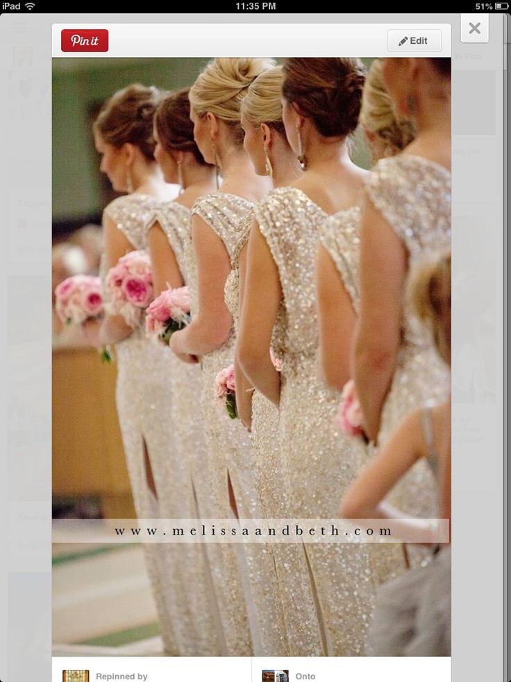 SPARKLE BRIDESMAID DRESS