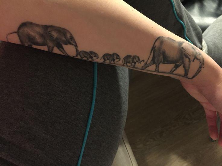 elephants family tattoo my family proud tattoo pinterest my family elephant family tattoo. Black Bedroom Furniture Sets. Home Design Ideas