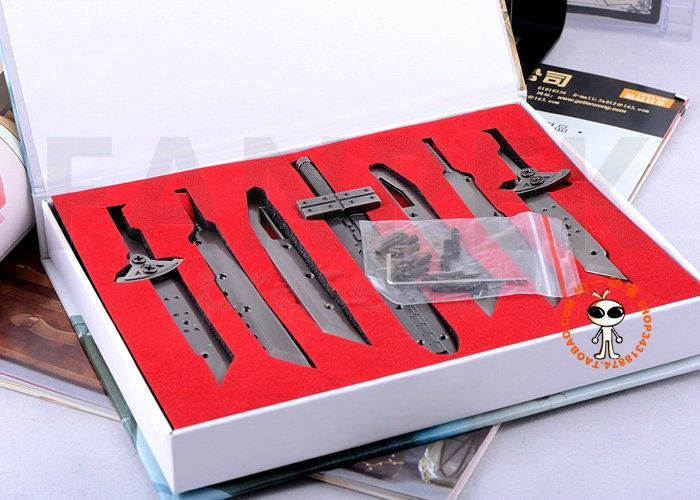 Final Fantasy Sword Weapon Accessories Toy Set