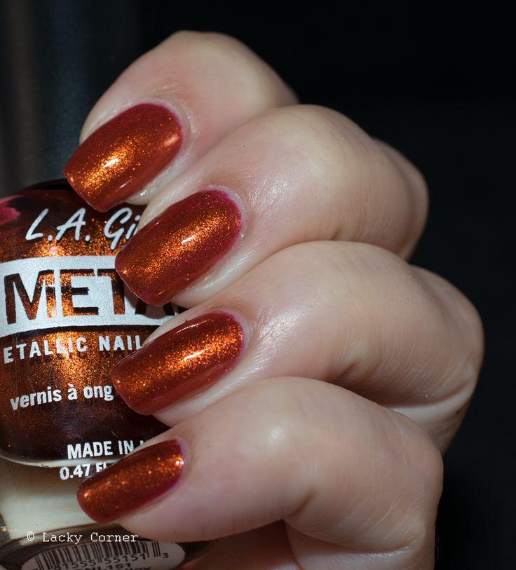 Lacky Corner: L.A Girl Metal - Copper Alloy