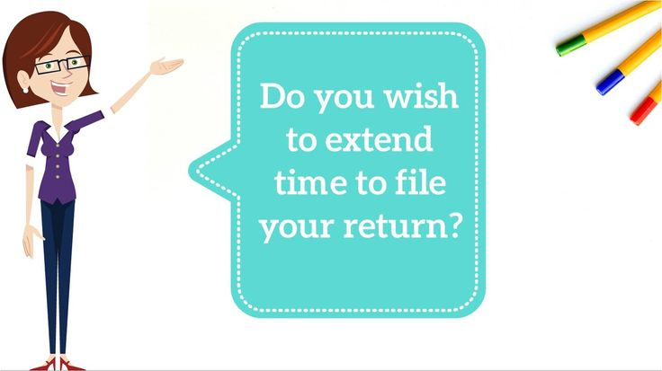 IRS - Extension to file IRS return