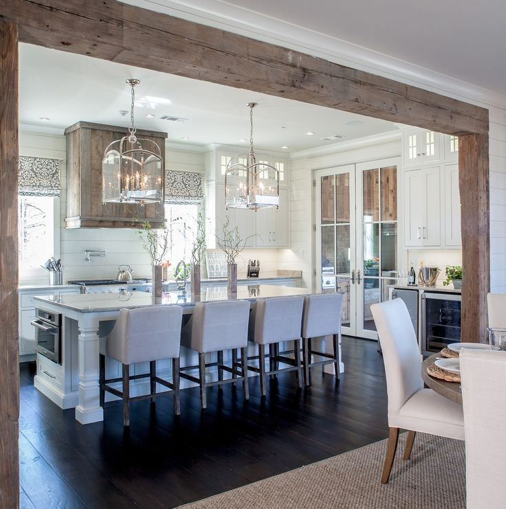 Rockport Gray Kitchen: Rustic Elegance Overflows In This Beach House … On