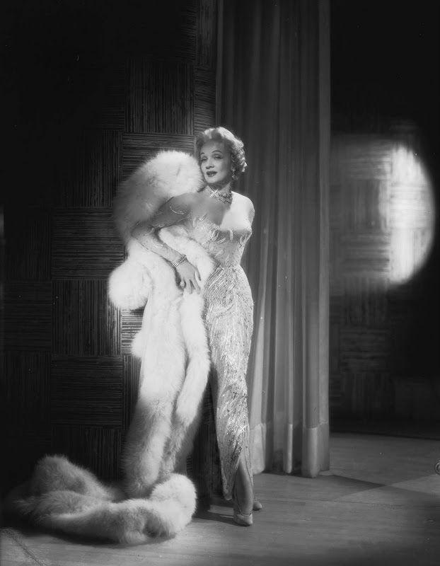 Marlene Dietrich in Jean Louis photographed by John Engstead