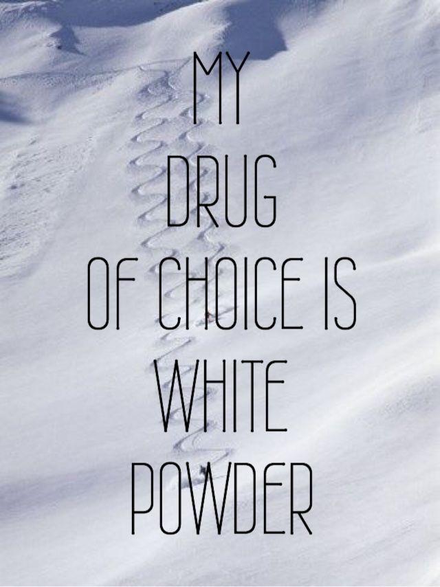 An Insomniac's Ski Dreams : my drug of choice is white powder: #snow ski skiing www.familyskitrips.com