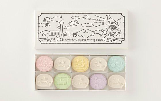 """""""RAKUGAN"""" Japanese sweets / UCHU WAGASHI"""