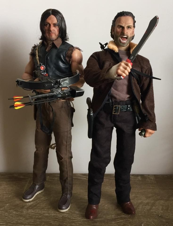 Daryl and Rick...