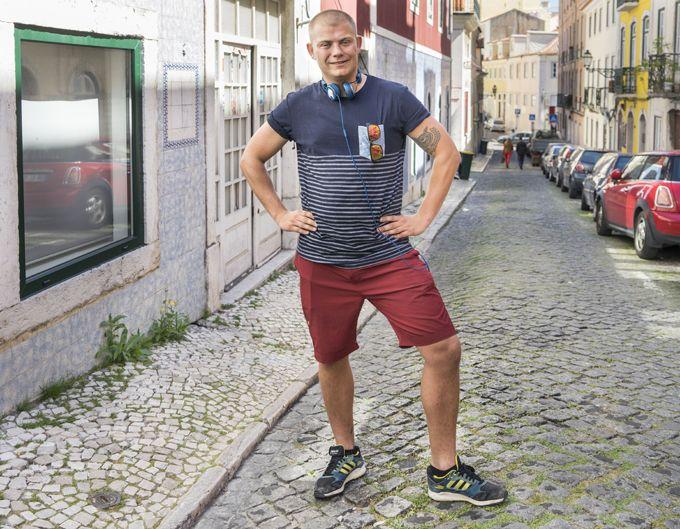 Kristoffer Hansen Kindt in Lisbon