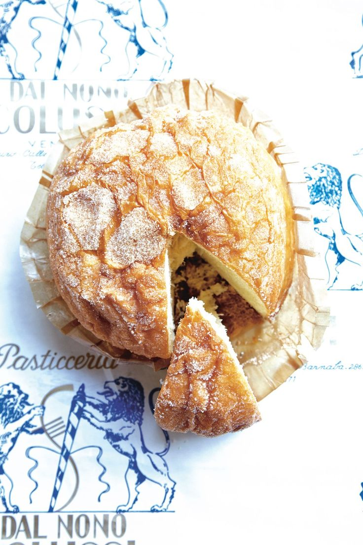 Venetian brioche, as seen in 'Venice: Cult Recipes' by Laura Zavan. Photo by: Grégoire Kalt