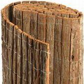 Baumrindenmatten Rindenmatten Sichtschutzmatten doppelseitig 95% sichtdicht, A-Qualität, Lebensdauer 15 Jahre keine Forstschlagen, keine Umweltverschmutzung, sehr geeignet für Kletterpflanze, auch oft gegen Drahtzaun befestigt. Eine sehr schöne natürliche und umweltfreundliche Alternative für Holzzäune.
