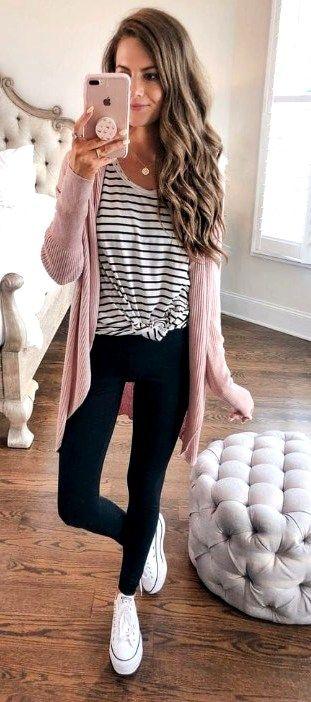 40 schöne Frühling Outfits Ideen für Frauen