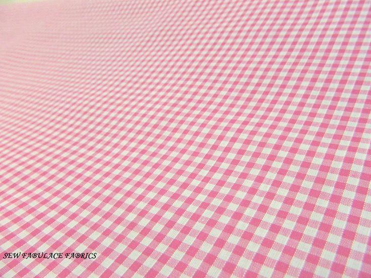 No.2: Light Pink Gingham