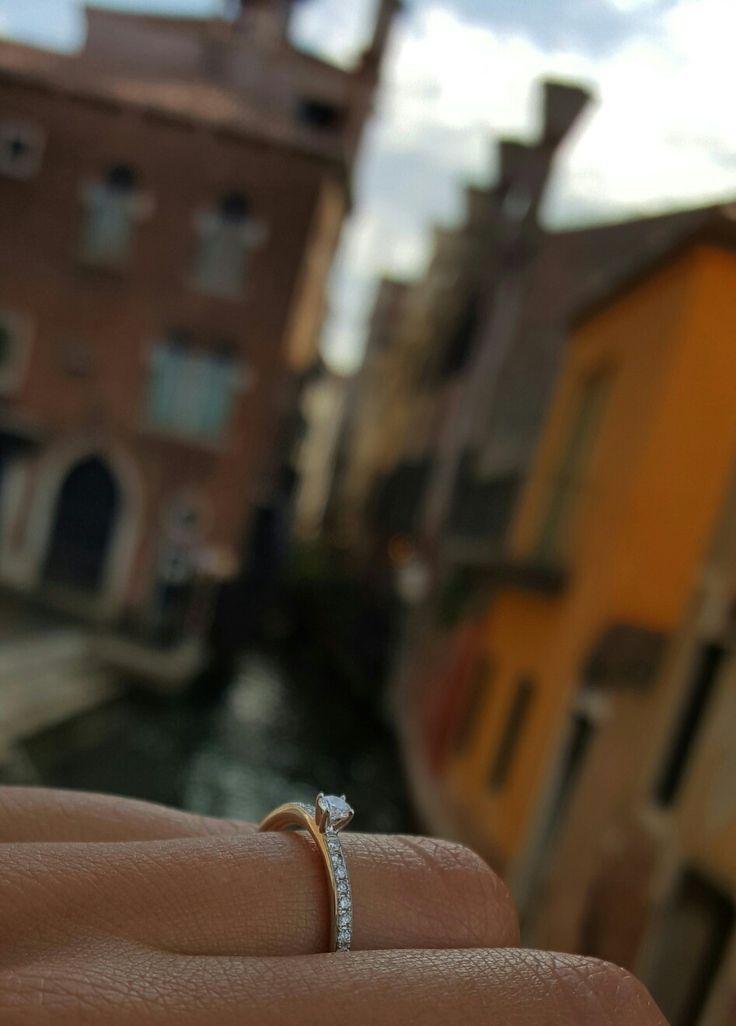 Verlobung, Venedig, Italien