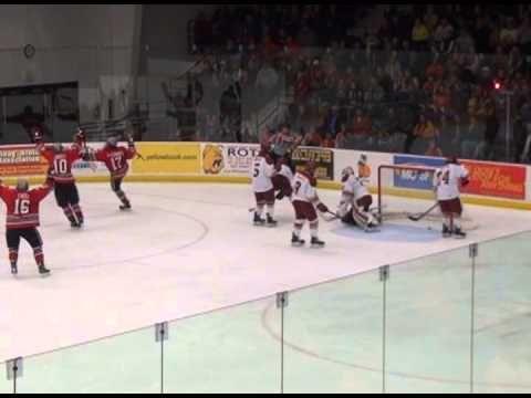 Ohio State Ferris State Hockey Highlights 1/12/13