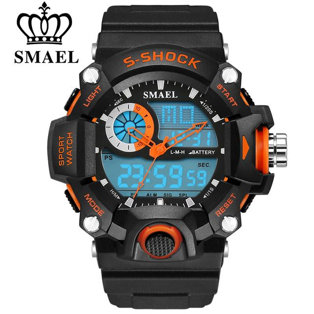 Special offer SMAEL Watches Men Military Army Mens Watch Reloj Led Digital Sports Wristwatch Male Gift Analog S Shock Automatic Watch Male just only $10.69 with free shipping worldwide  #menwatches Plese click on picture to see our special price for you