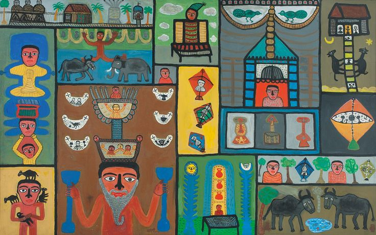 DAG Modern is pleased to announce Madhvi Parekh's retrospective spanning five decades of her painterly career, this retrospective is critical in that it includes iconic works by the artist that is representative of every phase of her illustrious career, including rare drawings and paintings from the 1960s.
