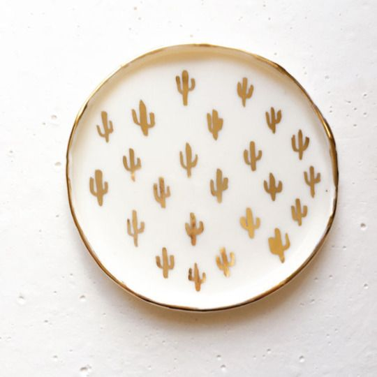 Cactus Ring Dish by hernameismud