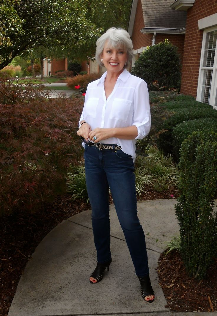 Fifty, not Frumpy: Really like this! Black flats or boots would make it perfect. Love the belt!