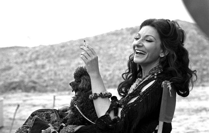 """Maria Callas in Pasolini's film """"Medea""""'(1969)"""