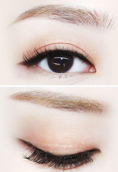 asian and korean makeup image