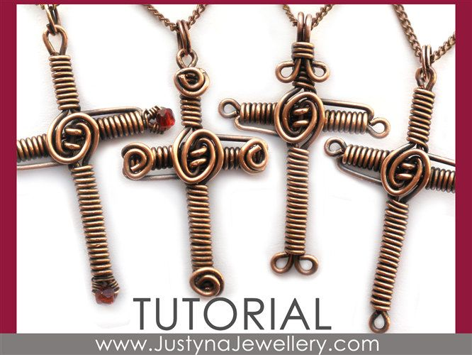 wire wrapping tutorial | Cross Tutorial, Wire Cross Pattern, Wire Wrapping Pendant Tutorial ...