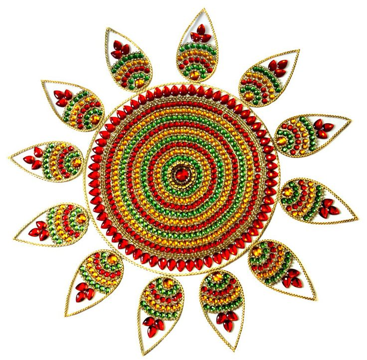 Decor your home with this acrylic rangoli this Diwali festival