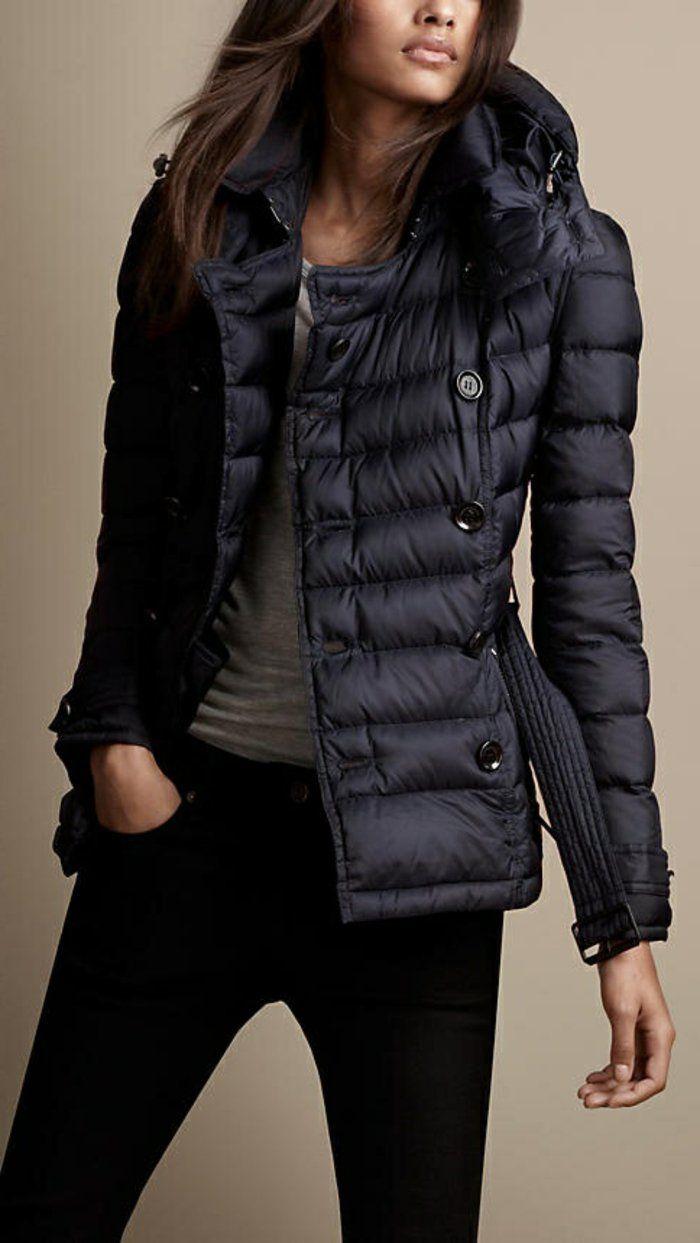 78cdb52b600c Nett winterjacke schwarz damen   Mode Saison   Outfits, Winter und ...
