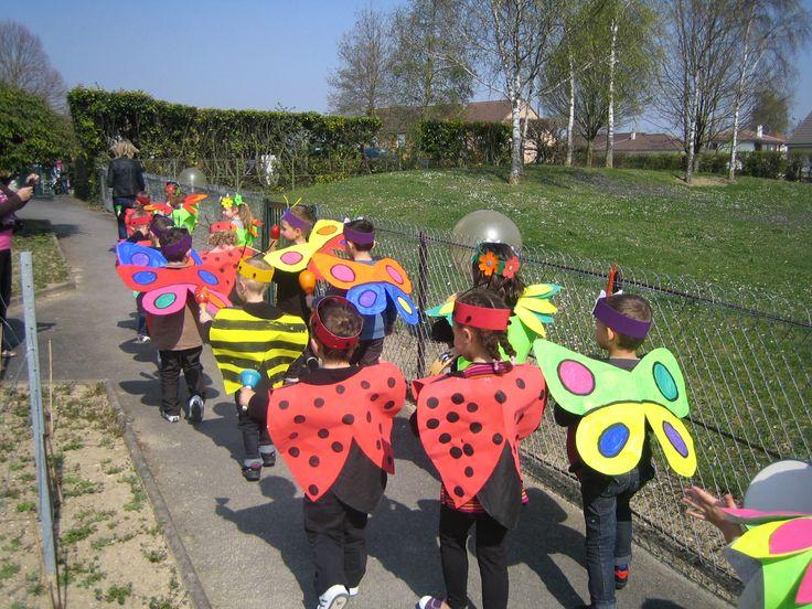 Après le carnaval de Venise, le carnaval de Dunkerque, la carnaval de Belgique et le carnaval de Rio, voici le carnaval...de Oiry.   Les enf...