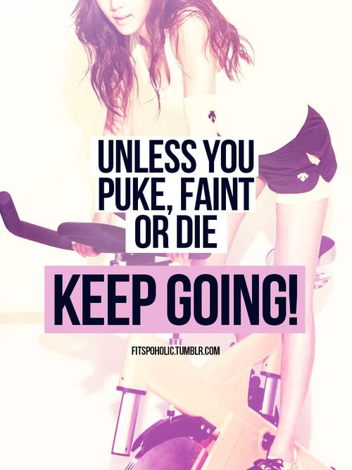Unless you puke faint or die keep going - I've done 2 of these things during or immediately after a class in the past!