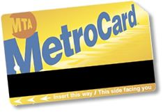 New York Metro Card - use the 7-day unlimited pass for subway and buses on your vacation to NYC.