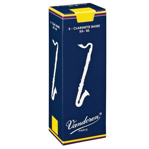 Vandoren: Box of 5 Bass Clarinet Reeds - 2. £21.95
