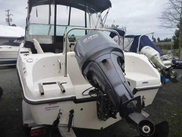 2006 Seaswirl Striper 21 Boat Yamaha 225hp Motor Yamaha Striper Boat