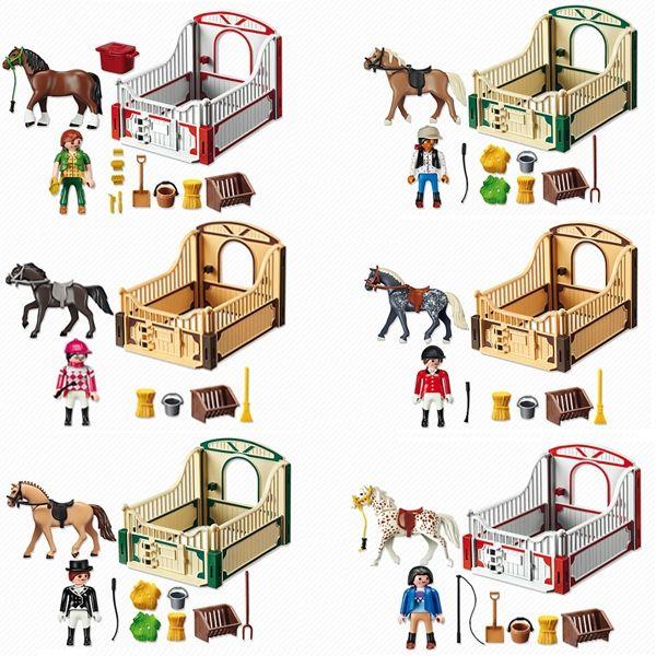 box chevaux playmobil cheval