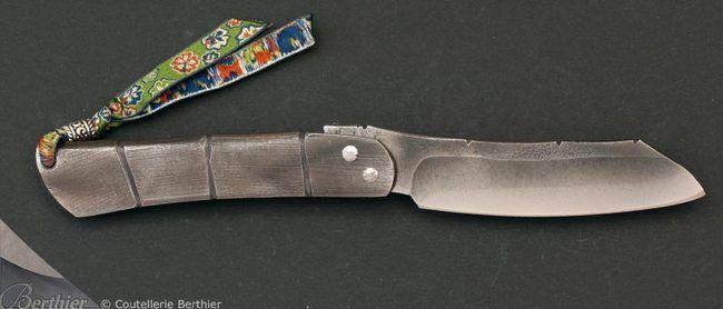 Couteau de poche Piémontais façon higonokami n°59 - MOING - Couteaux Moing