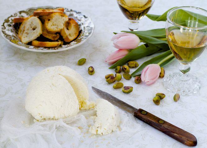Le fromage maison du chef Jérôme Ferrer