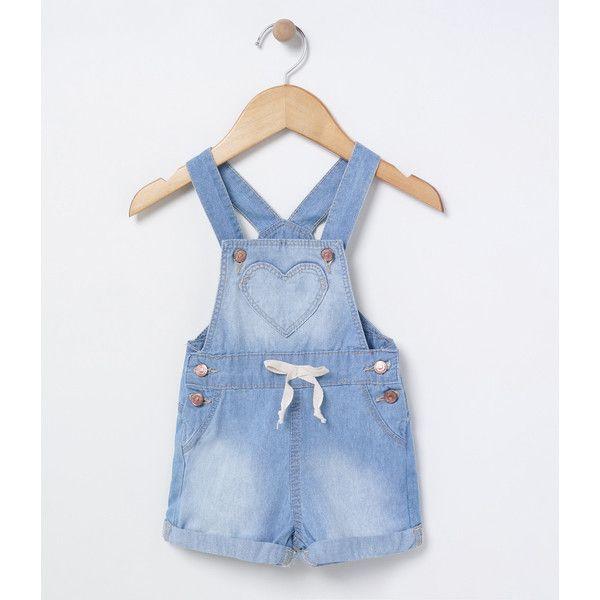 1000 ideias sobre jardineira jeans infantil no pinterest for Jardineira jeans infantil c a