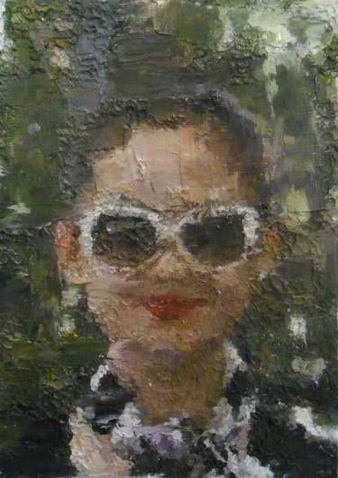 "Saatchi Art Artist Rachel Sharp; Painting, ""New Yorker Series (14)"" #art"