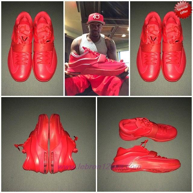 Nike KD 7 Elite Red Python